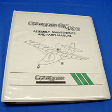 Engine & Aircraft - Owner & Assembly Manuals